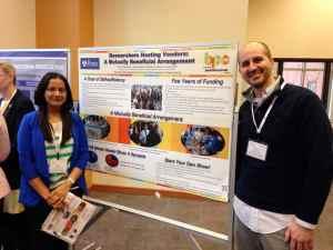 Penn postdocs present at the NPA Poster Session. Image Credit: BPC Staff
