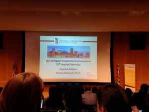 NPA Keynote Address. Image Credit: Liisa Hantsoo